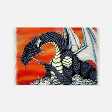 Unique Dragons Rectangle Magnet