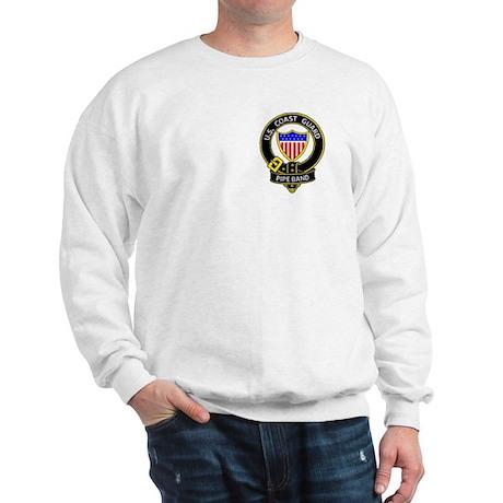Sweatshirt logo on back
