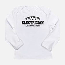 Future Electrician Long Sleeve Infant T-Shirt