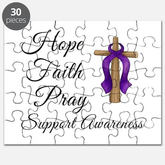 Support Awareness - Lupus Cro Puzzle