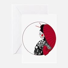Geisha Greeting Cards (Pk of 10)