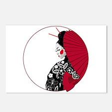 Geisha Postcards (Package of 8)