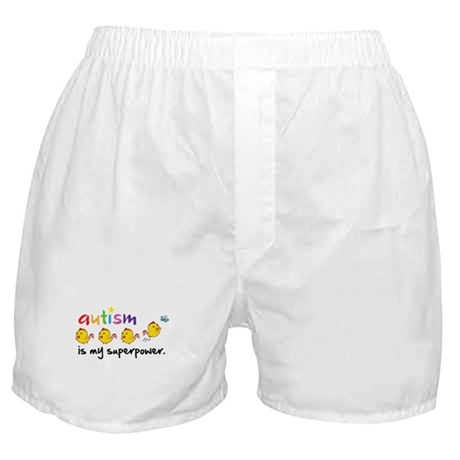 Autism Is My Superpower Boxer Shorts