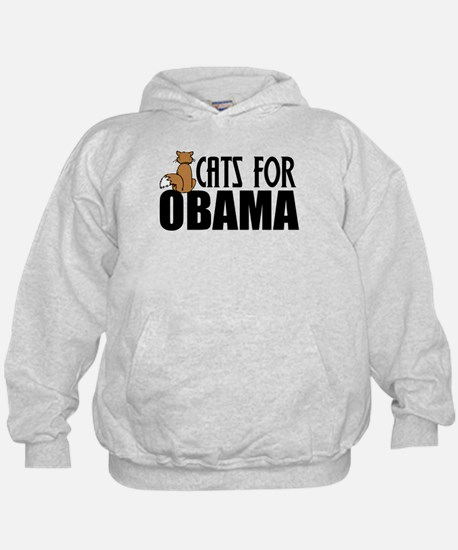 Cats for Obama Hoodie