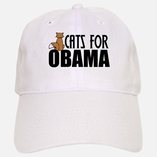 Cats for Obama Cap