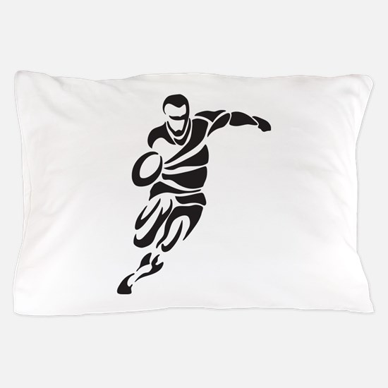 Rugby Player Pillow Case