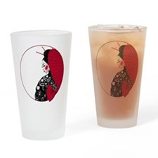 Geisha Drinking Glass