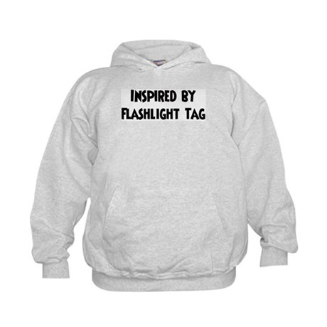 Inspired by Flashlight Tag Kids Hoodie