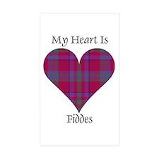 Heart - Fiddes Decal