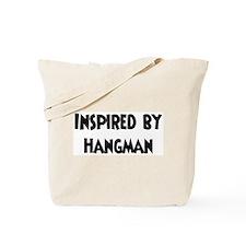 Inspired by Hangman Tote Bag