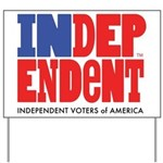 Independent Voters of America Yard Sign