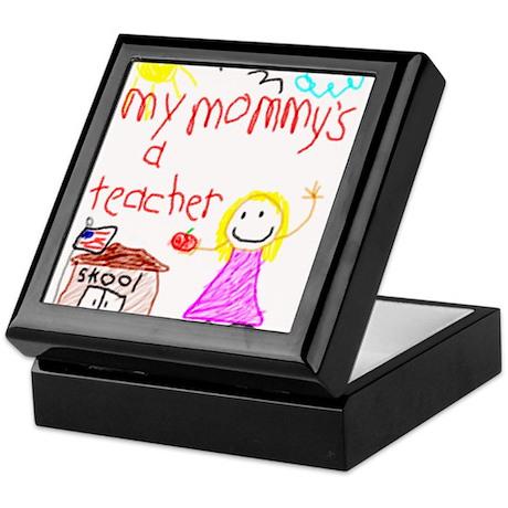 """Mommy Teacher"" Series Keepsake Box"