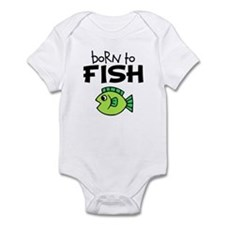 Born to Fish Infant Bodysuit
