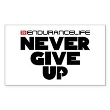 Never Give Up Merchandise Decal