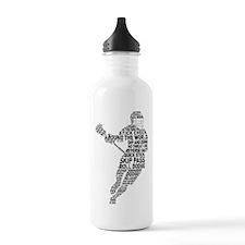 Lacrosse LAX Player Sports Water Bottle
