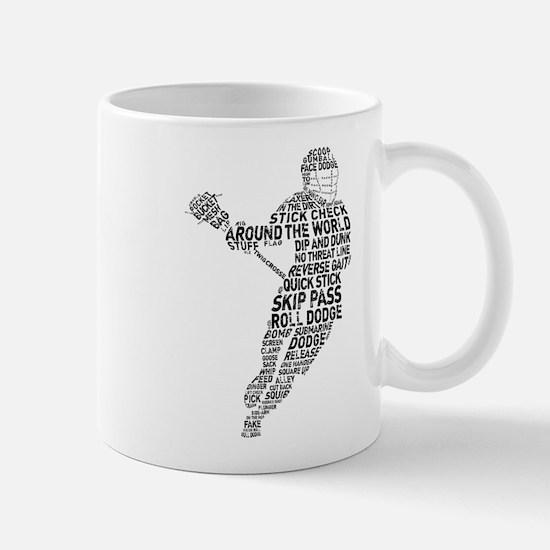 Lacrosse LAX Player Mug