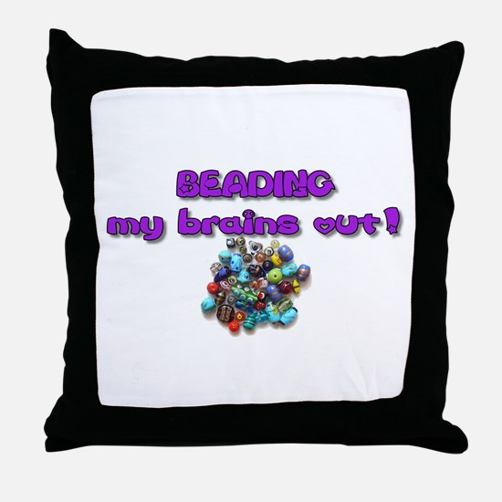 Jewelry Making Throw Pillow