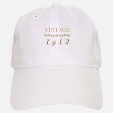 1912 Vintage Gold Baseball Baseball Cap