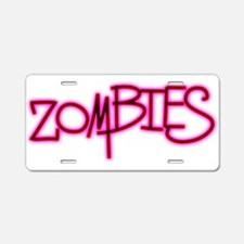 The Last of the..Zombies!.. p Aluminum License Pla