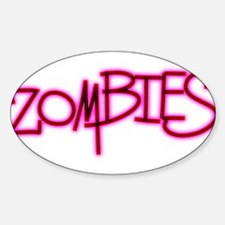 The Last of the..Zombies!.. p Sticker (Oval)