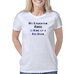 Mandrake Women's Plus Size Scoop Neck Dark T-Shirt