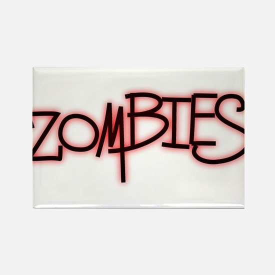 The Last of the..Zombies!.. p Rectangle Magnet
