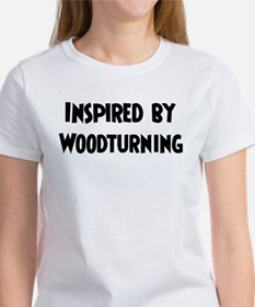 Inspired by Woodturning Tee