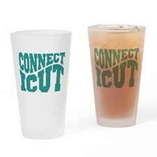 Connecticut Drinking Glass