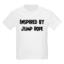 Inspired by Jump Rope Kids T-Shirt