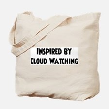 Cloud Watching Lover Tote Bag