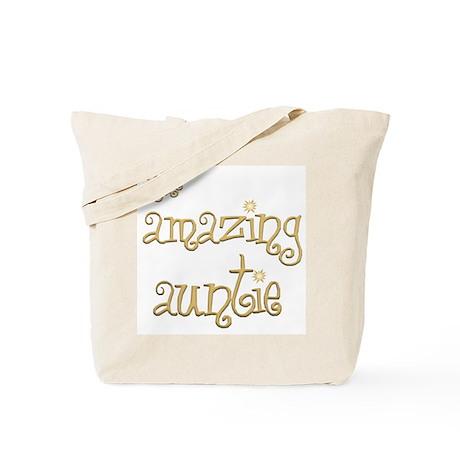 The Amazing Auntie Tote Bag