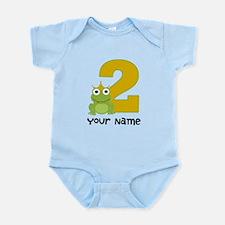 2nd Birthday Frog Prince Infant Bodysuit