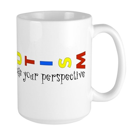 Perspective by Leah Large Mug