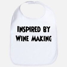 Inspired by Wine Making Bib