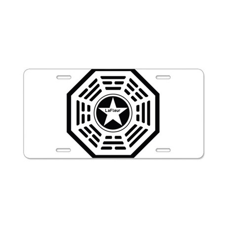 Dharma: LaFleur Aluminum License Plate