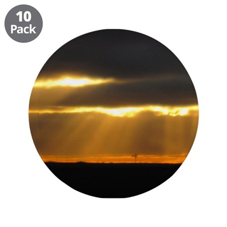 "Amarillo Sunset 3.5"" Button (10 pack)"