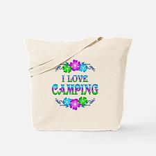 Camping Love Tote Bag