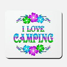 Camping Love Mousepad