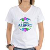 Camper Womens V-Neck T-shirts