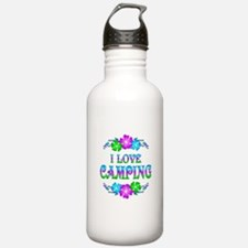Camping Love Water Bottle