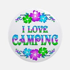 Camping Love Ornament (Round)