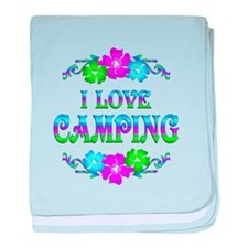 Camping Love baby blanket