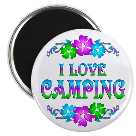Camping Love Magnet