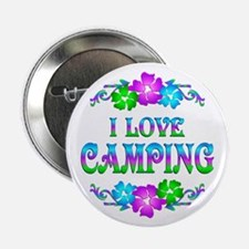 """Camping Love 2.25"""" Button (100 pack)"""