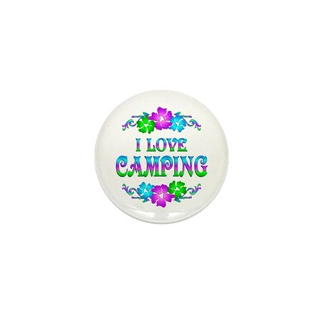 Camping Love Mini Button (100 pack)