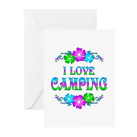 Camping Love Greeting Cards (Pk of 20)