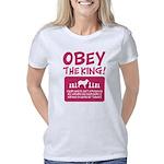 Unicorn Organic Women's Fitted T-Shirt