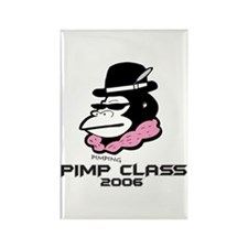 Cute Pimps and hoes Rectangle Magnet