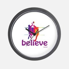 Believe (volleyball) Wall Clock