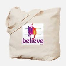 Believe (volleyball) Tote Bag